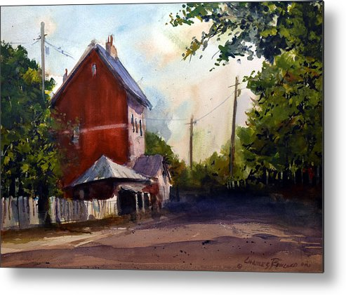 Sofala. New South Wales Metal Print featuring the painting Sofala Post Office, NSW Australia by Charles Rowland