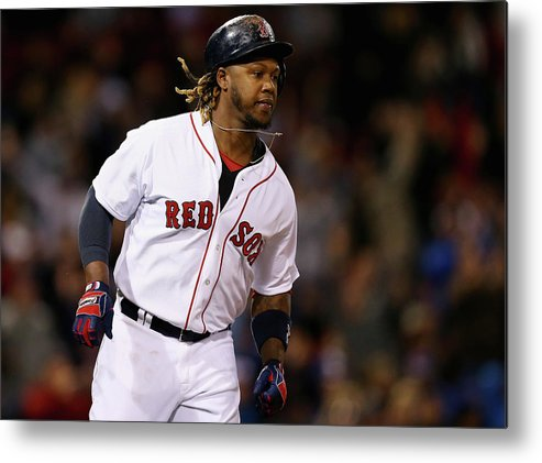 People Metal Print featuring the photograph Hanley Ramirez by Maddie Meyer