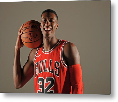 Media Day Metal Print featuring the photograph Kris Dunn by Randy Belice
