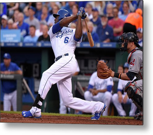People Metal Print featuring the photograph Lorenzo Cain by Ed Zurga