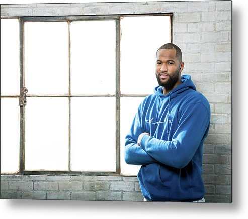 Nba Pro Basketball Metal Print featuring the photograph Demarcus Cousins by Nathaniel S. Butler