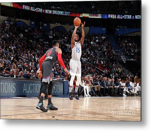Event Metal Print featuring the photograph Kemba Walker by Nathaniel S. Butler