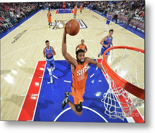 Nba Pro Basketball Metal Print featuring the photograph Alan Williams by Jesse D. Garrabrant