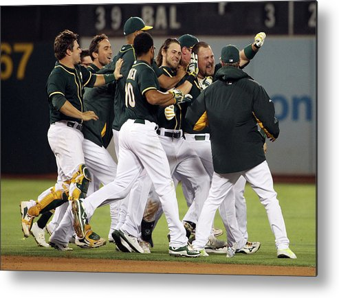 People Metal Print featuring the photograph Billy Butler by Ezra Shaw