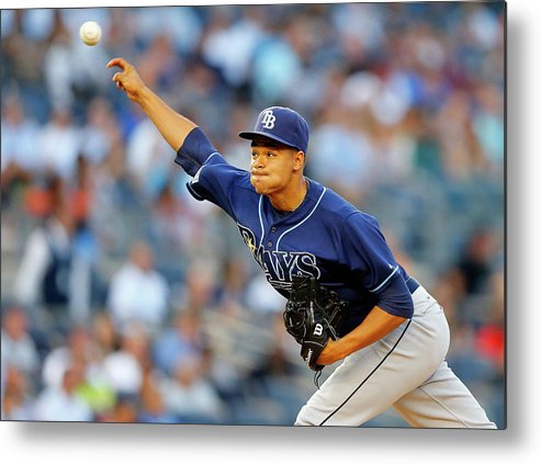Second Inning Metal Print featuring the photograph Chris Ray by Jim Mcisaac