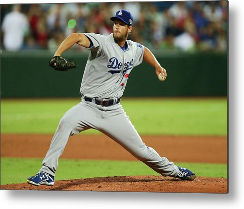 People Metal Print featuring the photograph Clayton Kershaw by Matt King