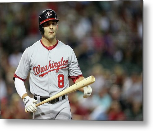 National League Baseball Metal Print featuring the photograph Danny Espinosa by Christian Petersen