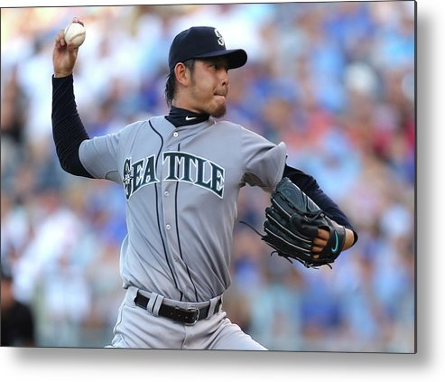 Hisashi Iwakuma Metal Print featuring the photograph Hisashi Iwakuma by Ed Zurga