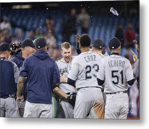 People Metal Print featuring the photograph James Paxton by Tom Szczerbowski