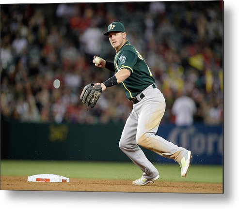 American League Baseball Metal Print featuring the photograph Josh Donaldson by Harry How
