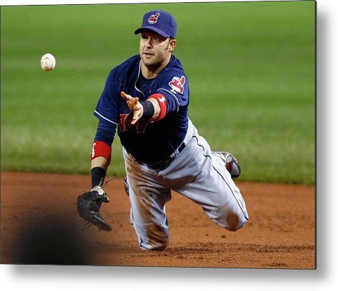 American League Baseball Metal Print featuring the photograph Nick Swisher by Jared Wickerham