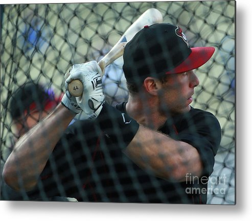 People Metal Print featuring the photograph Paul Goldschmidt by Victor Decolongon