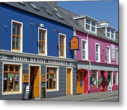 Irish Metal Print featuring the photograph Strand Street in Dingle Ireland by Teresa Mucha