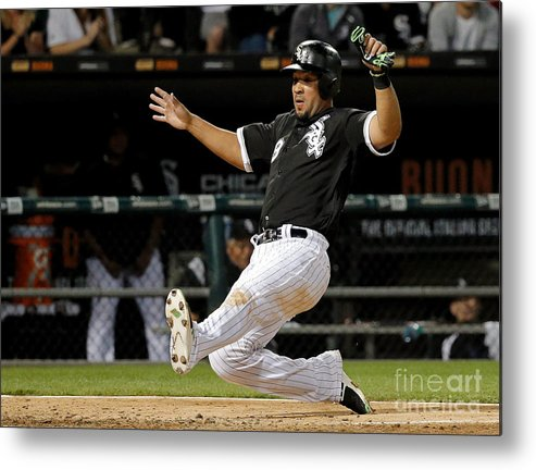 People Metal Print featuring the photograph Todd Frazier by Jon Durr