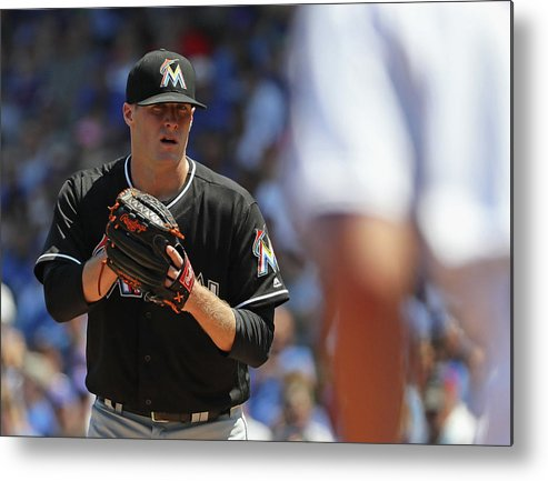 People Metal Print featuring the photograph Tom Koehler and Kris Bryant by Jonathan Daniel