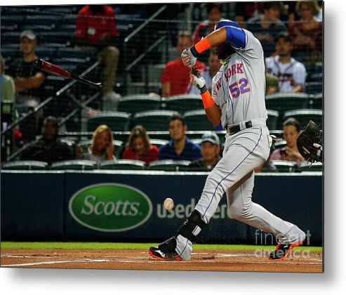 Atlanta Metal Print featuring the photograph Yoenis Cespedes by Kevin C. Cox