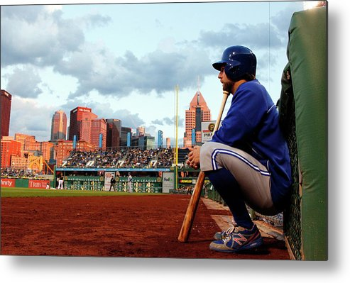 Professional Sport Metal Print featuring the photograph Toronto Blue Jays V Pittsburgh Pirates by Justin K. Aller