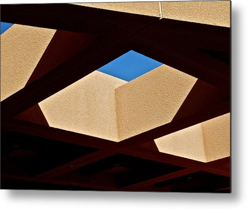 Architectural Shapes Metal Print featuring the photograph Architectural Roof Shapes by Kirsten Giving