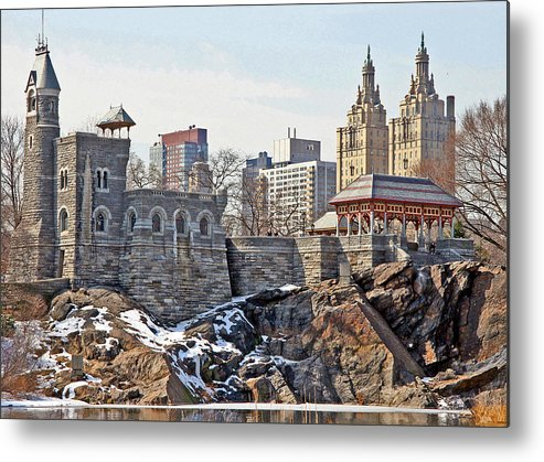 Castle Metal Print featuring the photograph Belvedere Castle by Andre Aleksis