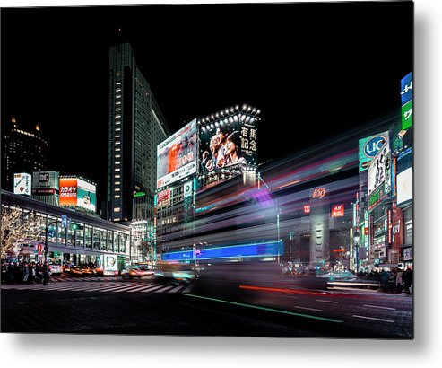 Tokyo Metal Print featuring the photograph Colors Of Tokyo by Carmine Chiriac?