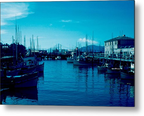 Fisherman's Wharf Metal Print featuring the photograph Fisherman's Wharf 1955 by Cumberland Warden