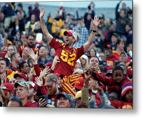 Morgantown Metal Print featuring the photograph Iowa State V West Virginia by Justin K. Aller