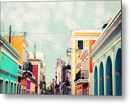 San Juan Metal Print featuring the photograph Old San Juan Special Request by Kim Fearheiley