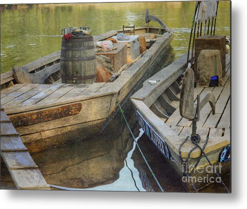 Batteau Metal Print featuring the photograph Rockfish Runner by Pete Hellmann