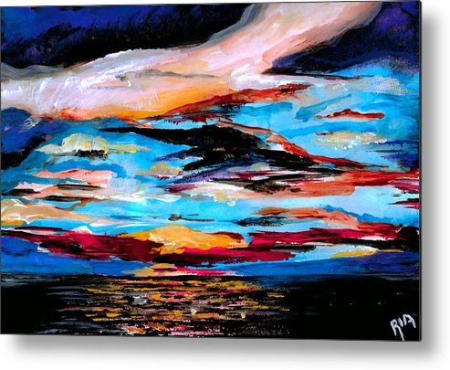 Sky Metal Print featuring the photograph Tranquil Moments by Artist RiA