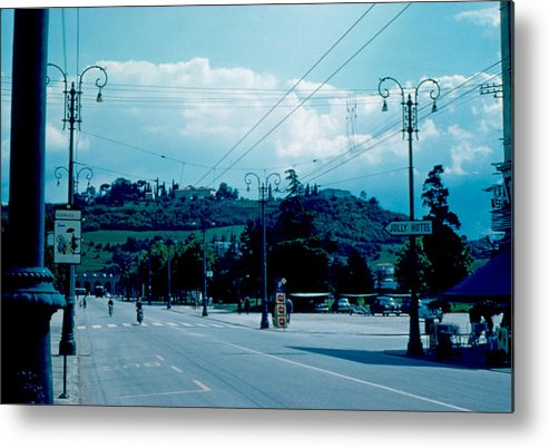 Vicenza Metal Print featuring the photograph Vicenza Italy 5 1962 by Cumberland Warden