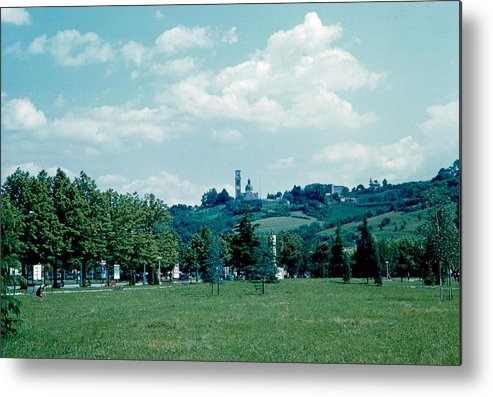 Vicenza Metal Print featuring the photograph Vicenza Italy 6 1962 by Cumberland Warden