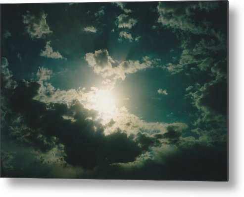 Photos Metal Print featuring the photograph Afternoon Sun Oklahoma by Gene Linder