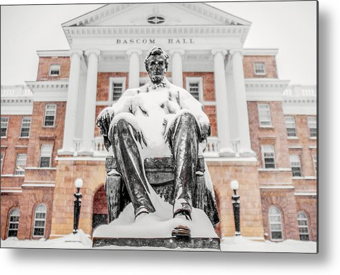 Abraham Lincoln Metal Print featuring the photograph Arctic Abe by Todd Klassy
