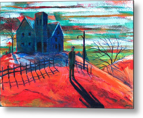 Autumn Metal Print featuring the painting Autumn by Rollin Kocsis