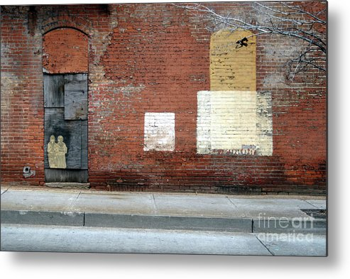 Brick Walls Metal Print featuring the photograph Brick Wall 2 of Four by Walter Neal