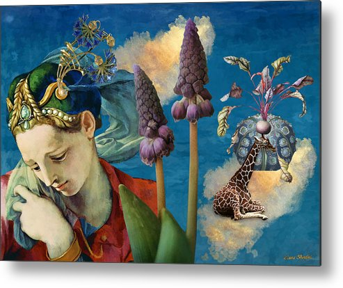 Dreamscape Metal Print featuring the digital art Day Dreams by Laura Botsford