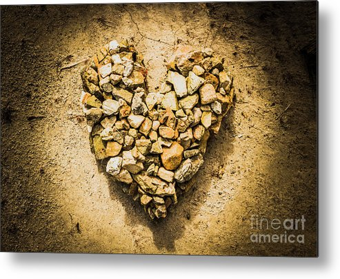 Heart Metal Print featuring the photograph Earthly Togetherness by Jorgo Photography - Wall Art Gallery