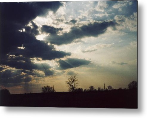 Ohio Metal Print featuring the photograph Gahanna Ohio landscape by Gene Linder