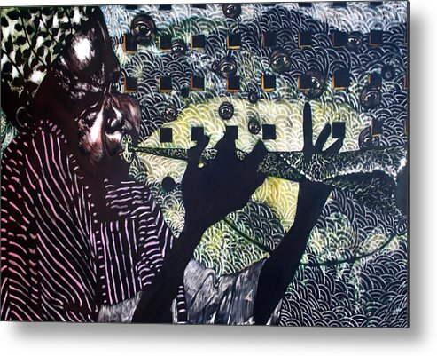 New Age Metal Print featuring the mixed media Herald of A New Age by Chester Elmore