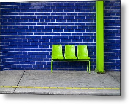 Green Metal Print featuring the photograph Paradaxochi by Skip Hunt