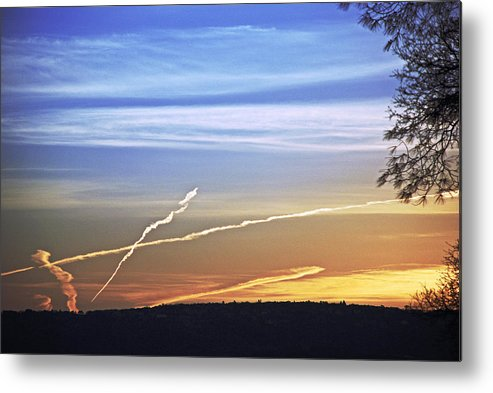 Landscape Metal Print featuring the photograph Peace by M Ryan