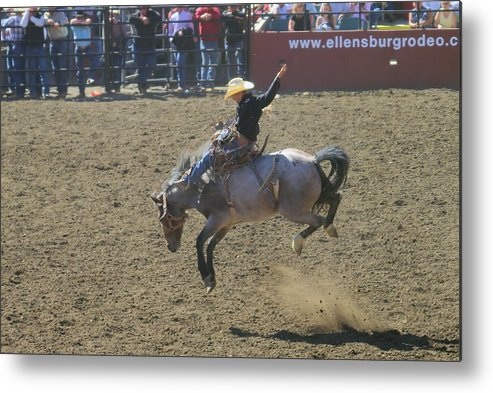 Competition Metal Print featuring the photograph Ride Em Cowboy by Jeff Swan