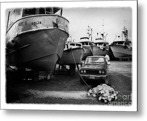Alaska Metal Print featuring the photograph The Real Alaska - Dry Dock 1 by Pete Hellmann