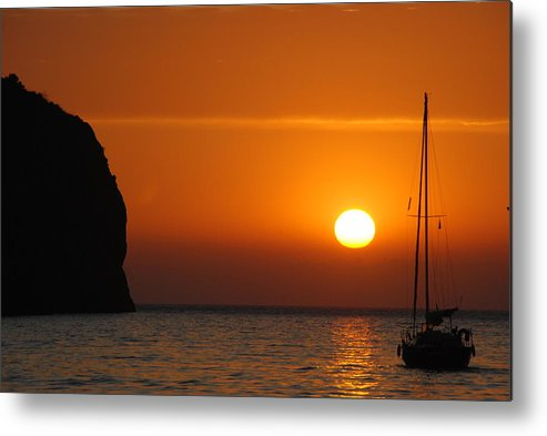 Sunset Metal Print featuring the photograph The Wish by Chad Natti