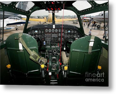 Wisconsin Metal Print featuring the photograph E.a.a. 2007 Airventure Fly-in by Jonathan Daniel