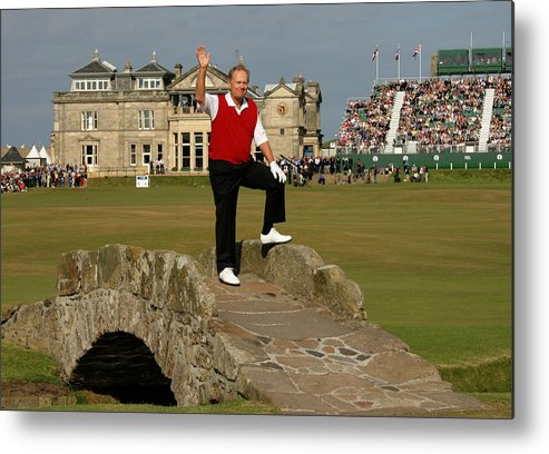 Crowd Metal Print featuring the photograph 134th Open Championships by David Cannon