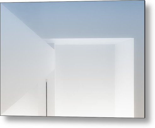 Abstract Metal Print featuring the photograph Abstract Interior by Greetje Van Son