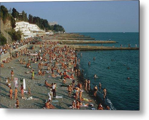 Sochi Metal Print featuring the photograph Black Sea Coast by Harvey Meston