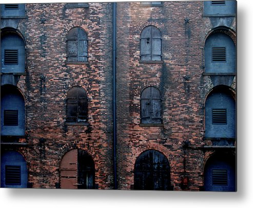 Outdoors Metal Print featuring the photograph Civil War Era Spice Warehouse by © Rick Elkins