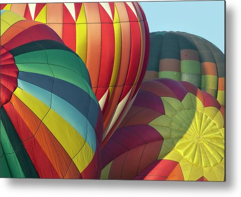 Celebration Metal Print featuring the photograph Colorful Inflation Balloon Race by Provided By Jp2pix.com